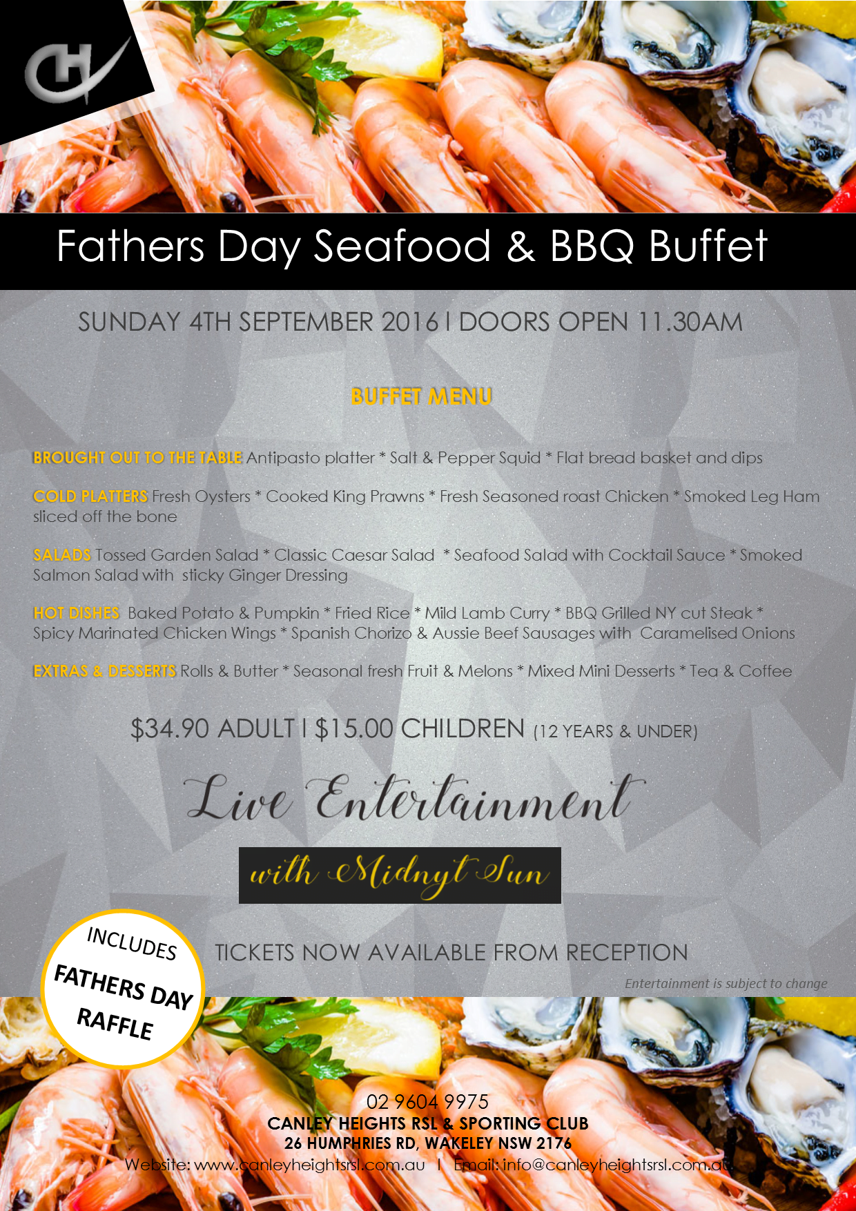 Fathers Day Buffet Canley Heights RSL : Fathers Day 2016 from canleyheightsrsl.com.au size 1240 x 1754 png 4208kB